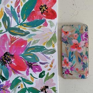 Anthropologie Floral Phone Case